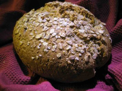 Hafer-Brot backen